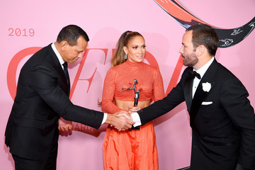 Jennifer Lopez CFDA Fashion Awards - Winners Walk