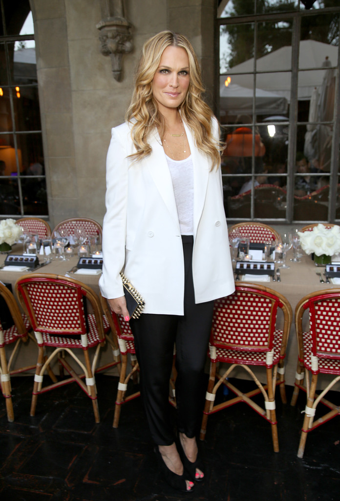 Molly Sims Photos Jennifer Meyer For The Zoe Report