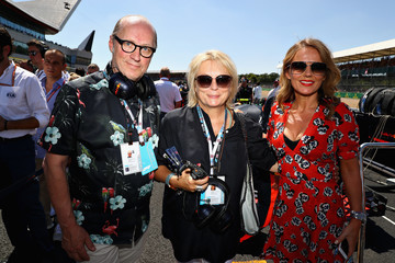 Jennifer Saunders F1 Grand Prix Of Great Britain