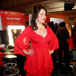 Jennifer Tilly The American Heart Association's Go Red For Women Red Dress Collection 2020 - Backstage