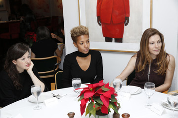Jennifer Weisel Robbie Myers, Editor-In-Chief, ELLE and Chelsea Handler Host ELLE Agenda Lunch At Michael's NYC