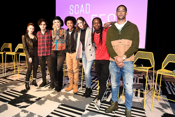 "SCAD aTVfest 2020 - ""Legacies"" [social group,youth,performance,event,fashion,stage,team,heater,design,talent show,legacies,scad atvfest,l-r,public relations,design,fashion,public,samantha highfield,jenny boyd,kaylee bryant,quincy fouse,aria shahghasemi,julie plecdanielle rose russell,peyton alex smith]"