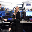 Jenny McCarthy Annual Charity Day Hosted By Cantor Fitzgerald, BGC and GFI - Cantor Fitzgerald Office - Inside