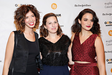 Jenny Slate  Gillian Robespierre 24th Annual Gotham Independent Film Awards - Arrivals