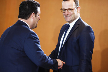 Jens Spahn Weekly Government Cabinet Meeting