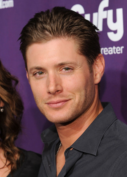Jensen Ackles Actor Jensen Ackles attends the EW and SyFy party during Comic-Con 2010 at Hotel Solamar on July 24, 2010 in San Diego, California.