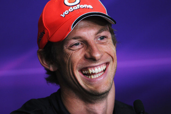 Jenson Button Jenson Button of Great Britain and McLaren attends the drivers press conference during previews to the Malaysian Formula One Grand Prix at the Sepang Circuit on April 7, 2011 in Kuala Lumpur, Malaysia.