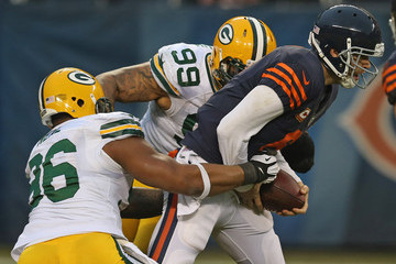 Jerel Worthy Green Bay Packers v Chicago Bears