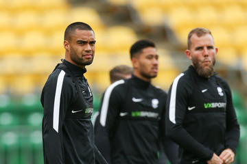 Jeremy Brockie New Zealand All Whites Training Session