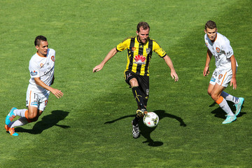 Jeremy Brockie A-League Rd 15 - Wellington v Brisbane