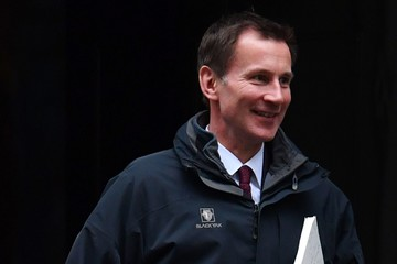 Jeremy Hunt Weekly Cabinet Meeting at 10 Downing Street