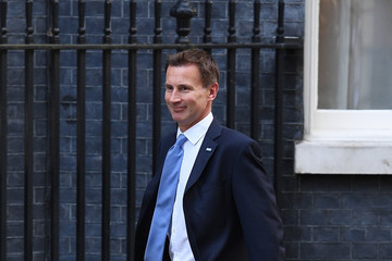 Jeremy Hunt Government Ministers Arrive for the Weekly Cabinet Meeting