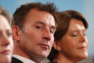 Jeremy Hunt The Conservative Party Annual Conference Concludes With The Prime Minister's Keynote Speech