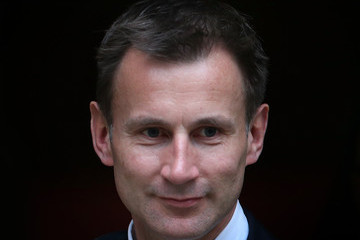 Jeremy Hunt Culture Secretary Jeremy Hunt Gives Evidence To The Leveson Inquiry