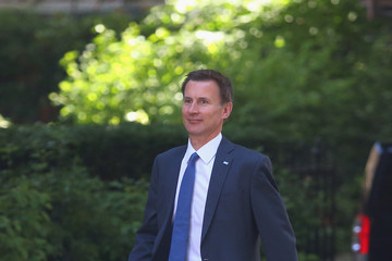 Jeremy Hunt Cabinet Ministers Attend Downing Street Meeting