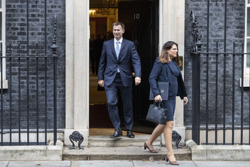 Jeremy Hunt Ministers Attend Weekly Cabinet Meeting Ahead Of The Prime Minister's Visit To Brussels