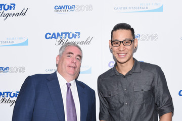 Jeremy Lin Annual Charity Day Hosted By Cantor Fitzgerald, BGC and GFI - Cantor Fitzgerald Office - Inside