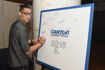 Jeremy Lin Annual Charity Day Hosted By Cantor Fitzgerald, BGC and GFI - Arrivals