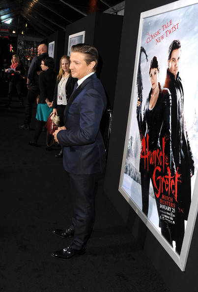 "Jeremy Renner - Premiere Of Paramount Pictures' ""Hansel And Gretel Witch Hunters"" - Red Carpet"