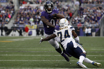 Jeremy Ross San Diego Chargers v Baltimore Ravens