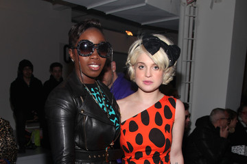Kelly Osbourne Santigold Jeremy Scott - Front Row - Fall 2010 MBFW