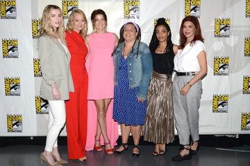 Jeri Ryan Entertainment Weekly's 'Women Who Kick Ass' Panel At San Diego Comic-Con 2019