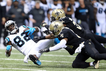 Jerricho Cotchery Carolina Panthers v New Orleans Saints