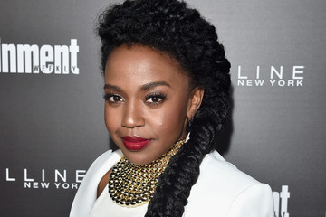 Jerrika Hinton 'Entertainment Weekly' Celebration Honoring the Screen Actors Guild Nominees Presented By Maybelline At Chateau Marmont In Los Angeles - Arrivals