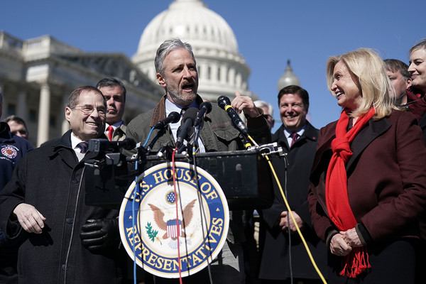Jon Stewart Protests Proposed Change In 9/11 First Responders' Health Care