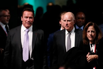 Jerry Brown One Planet Summit in Paris