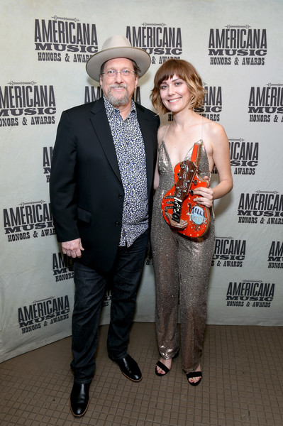 2018 Americana Music Honors And Awards - Backstage [photos,premiere,event,jerry douglas,molly tuttle,backstage,nashville,tennessee,ryman auditorium,americana music honors and awards]