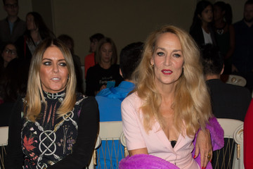 Jerry Hall Front Row & Arrivals: Day 4 - LFW SS16