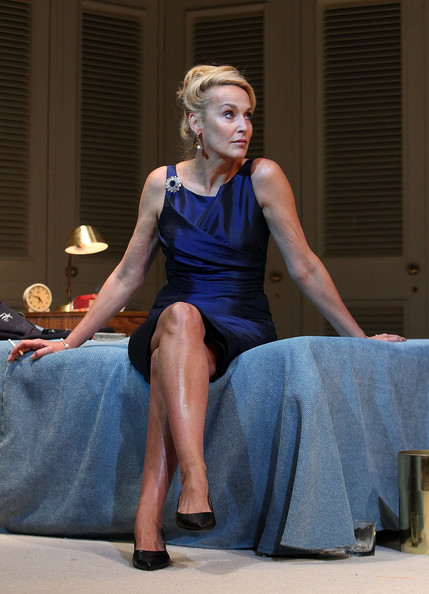 jerry hall performs quotthe graduatequot onstage in perth zimbio