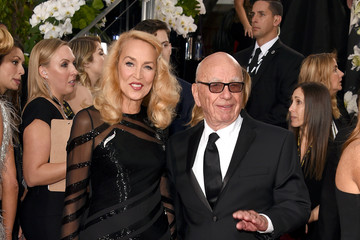 Jerry Hall 73rd Annual Golden Globe Awards - Arrivals
