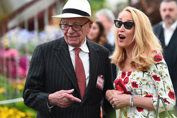 Jerry Hall Chelsea Flower Show - Press Day 2016