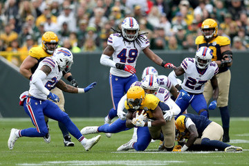 Jerry Hughes Buffalo Bills vs. Green Bay Packers