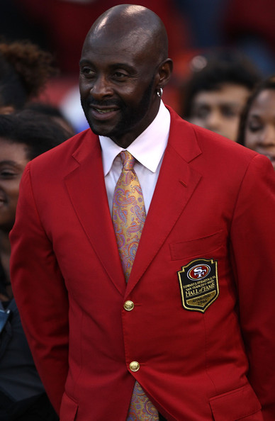 Jerry Rice Pictures - New Orleans Saints v San Francisco ...