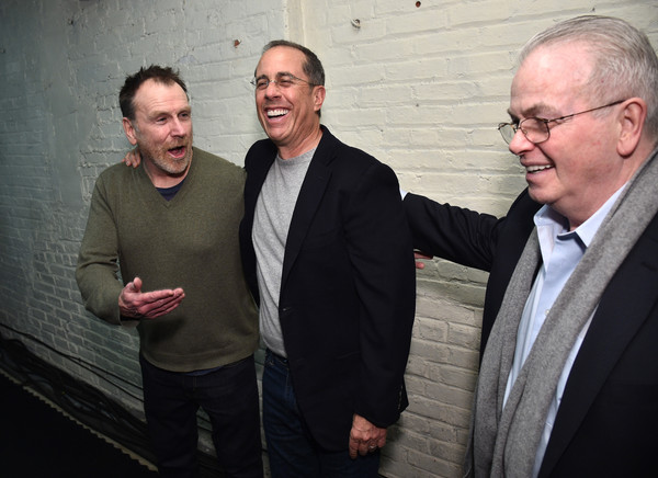 Opening Night For Colin Quinn's 'Red State Blue State' At Audible's Minetta Lane Theatre In NYC