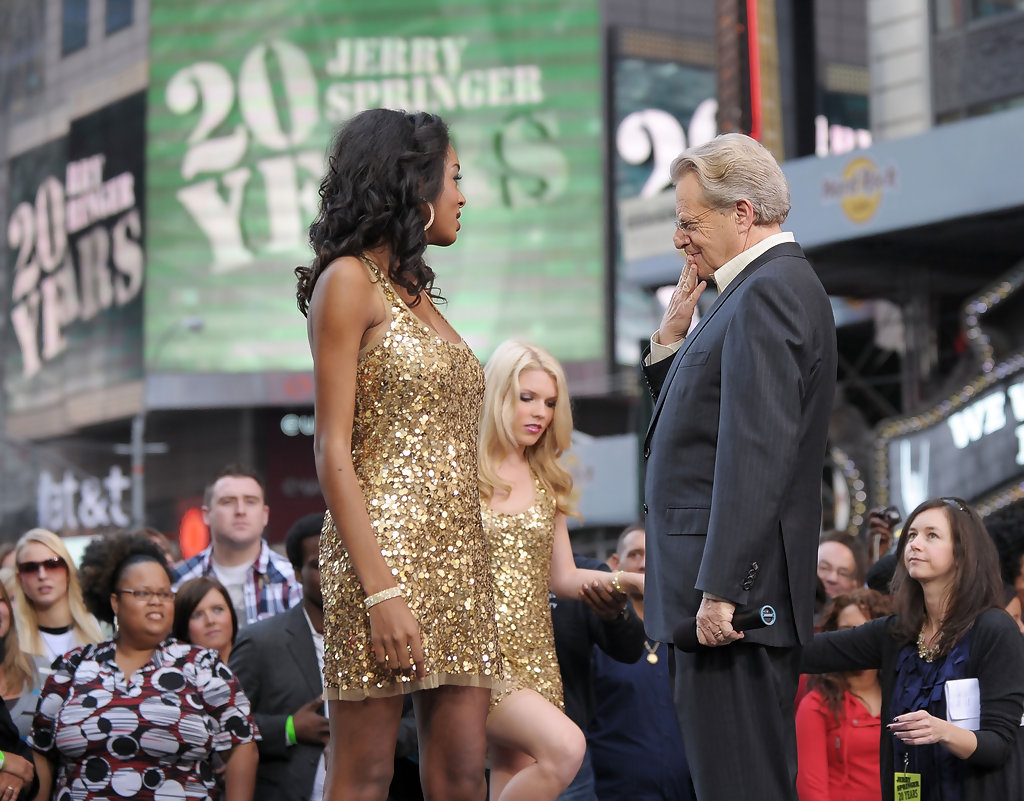 """Jerry Springer Sassy Cassee Photos - """"The Jerry Springer Show"""" 20th ..."""