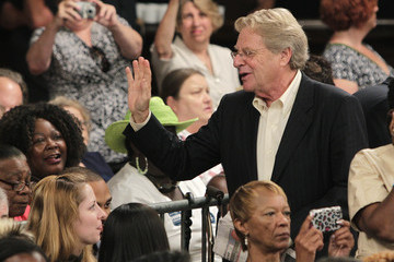 Jerry Springer President Obama Discusses Economy At Cincinnati Campaign Event