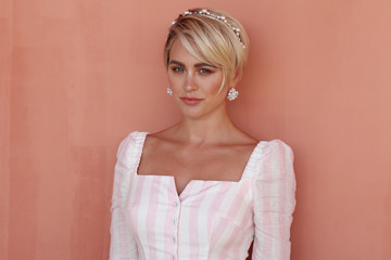 Jesinta Franklin Celebrities Attend 2019 Magic Millions Raceday