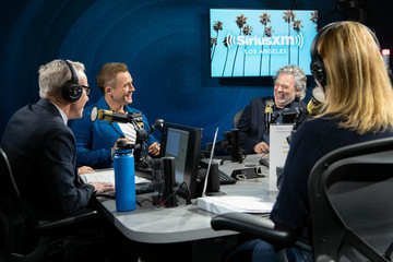 Jess Cagle Celebrities Visit The SiriusXM Hollywood Studios in Los Angeles