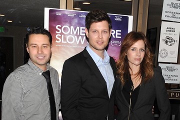 "Jessalyn Gilsig Screening Of Logolite Entertainment & Screen Media Films' ""Somewhere Slow"" - Red Carpet"