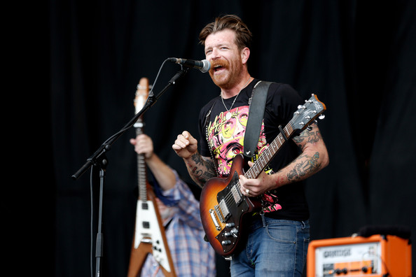 Jesse+Hughes+Reading+Festival+2012+Day+3