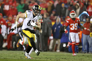 Jesse James Divisional Round - Pittsburgh Steelers v Kansas City Chiefs
