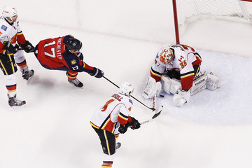 Jesse Winchester Calgary Flames v Florida Panthers