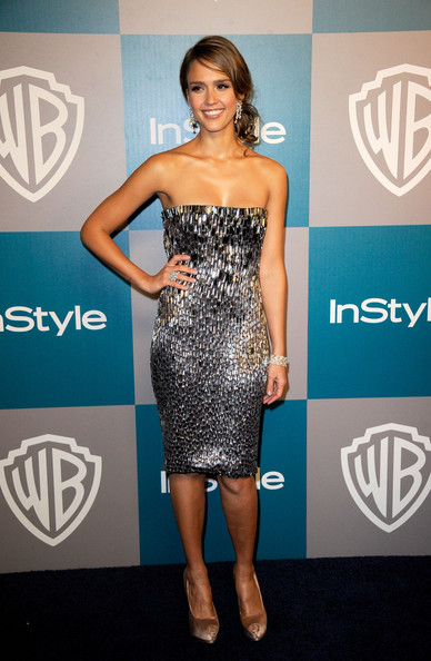 Jessica Alba - 13th Annual Warner Bros. And InStyle Golden Globe Awards After Party - Arrivals
