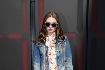 Jessica Barden Gucci  - Arrivals - Milan Fashion Week Fall/Winter 2018/19
