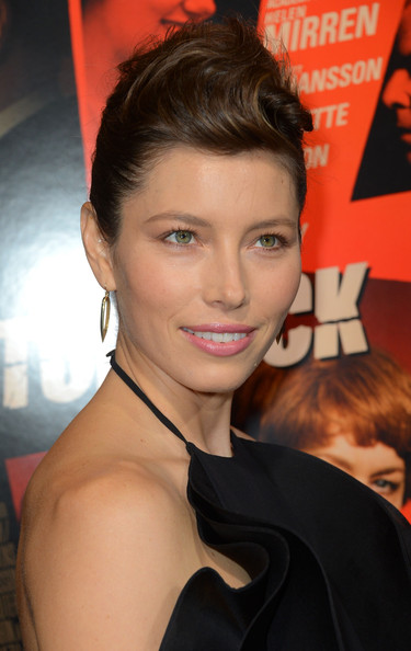 "Jessica Biel - Premiere Of Fox Searchlight Pictures' ""Hitchcock"" - Arrivals"