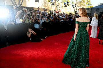 Jessica Chastain Premiere Of Warner Bros. Pictures' 'It Chapter Two' - Red Carpet